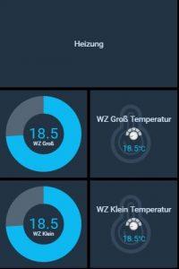 Beispielintegration der Thermostate