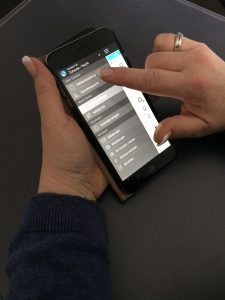 Benutzung des iPhones