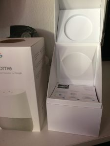 Google Home offene Verpackung