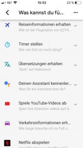 Google Home App Hilfe