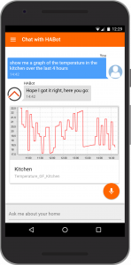 OpenHab HABot Chatbot Conversational User Interface