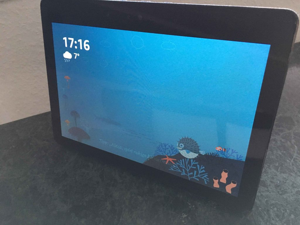 Amazon Echo Show Vorderseite Touchdisplay