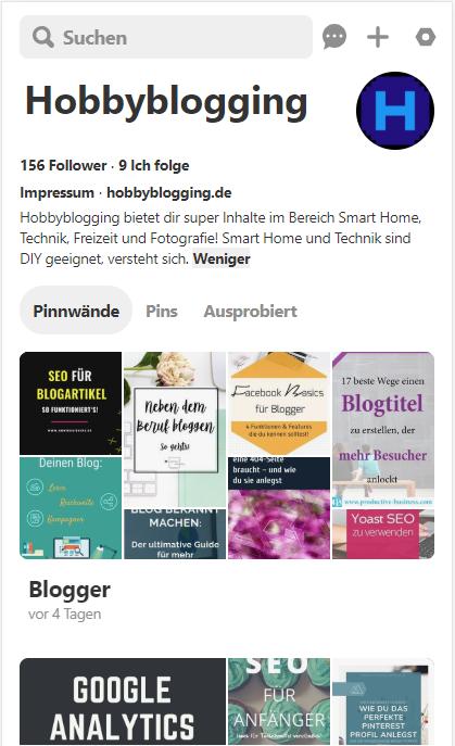 Pin it! Pinne jetzt unsere Beiträge auf Pinterest und folge unserem Profil