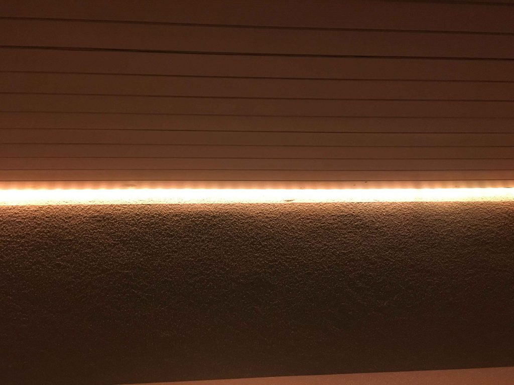 Schattenfuge Philips Hue Beleuchtung Smart Home Wand Renovierung