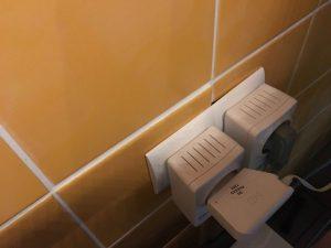 LED-Wandschrank-Beleuchtung mit Türkontakt