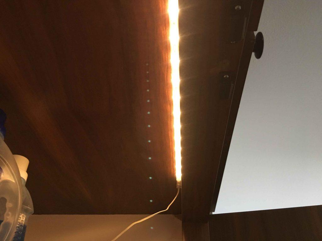 Wandschrank-Beleuchtung LED Ikea OpenHab