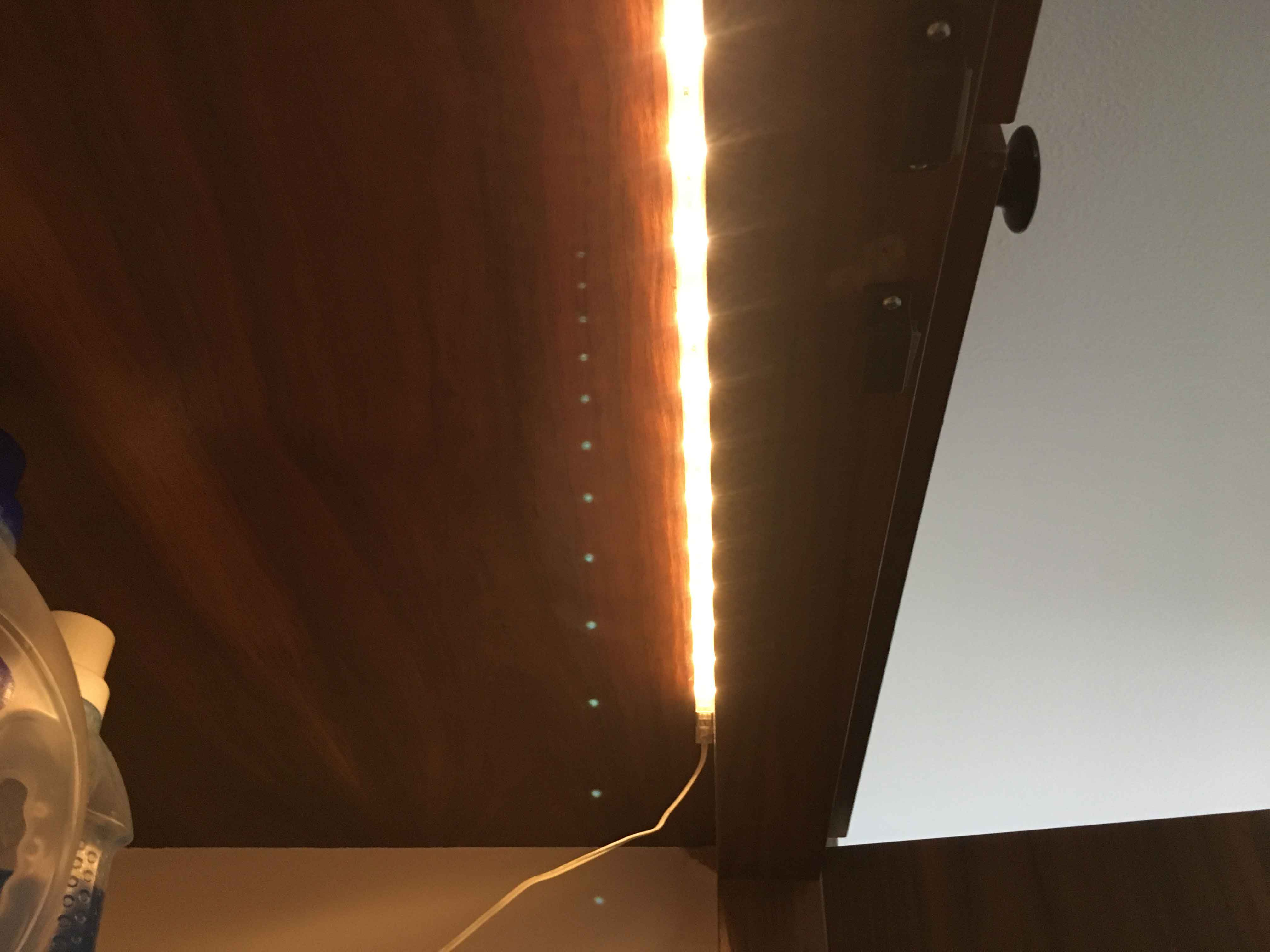 Eine Led Schrankbeleuchtung Mit Fensterkontakt Hobbyblogging
