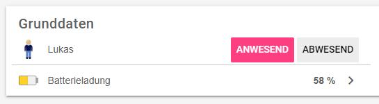 iCloud Binding Anwesenheit Presence