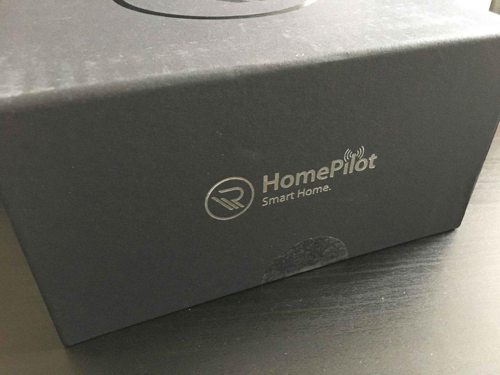 HomePilot Verpackung Schwarz Schriftzug