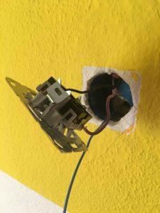 Verkabelung Lichtschalter Taster